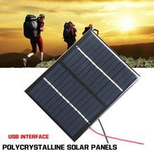 12V 1,5 W Mini Solar Panel Standard Epoxy Polykristalline DIY Solar Batterie Modul Ladung Zelle Silizium Lade Board Power