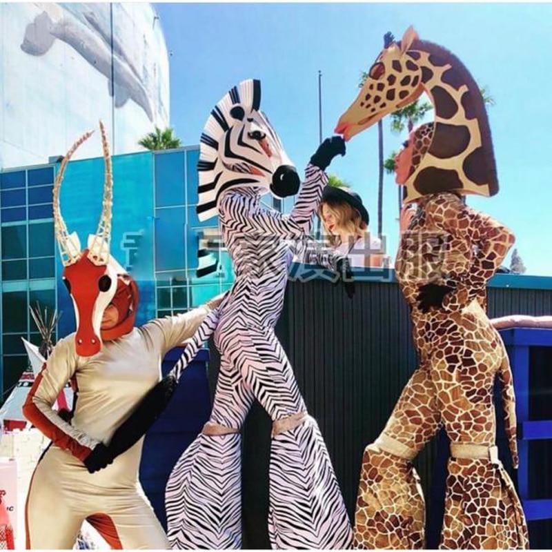 زي حفلة كوسبلاي ، زي غابات عالم الحيوانات المجنونة ، ملهى ليلي ، بار ، ds
