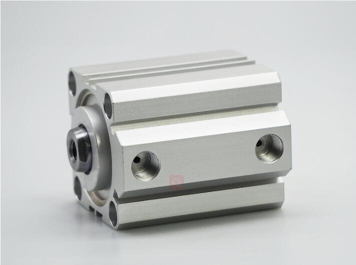Cilindro pneumático compacto do pistão do ar compacto do curso 60/70/75/80/100mm do furo 90/100mm do cilindro compacto do elemento pneumático de sda100