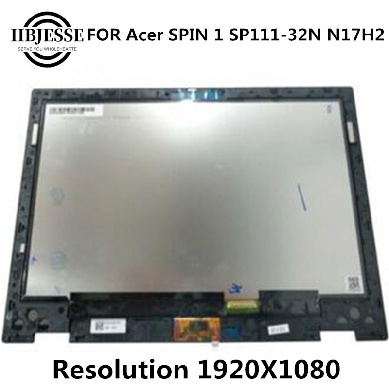 "Original 11,6 ""LED FHD de reemplazo de pantalla LCD y táctil DIGI para acer giro 1 SP111-32N SP111 N17H2 lcd Asamblea"