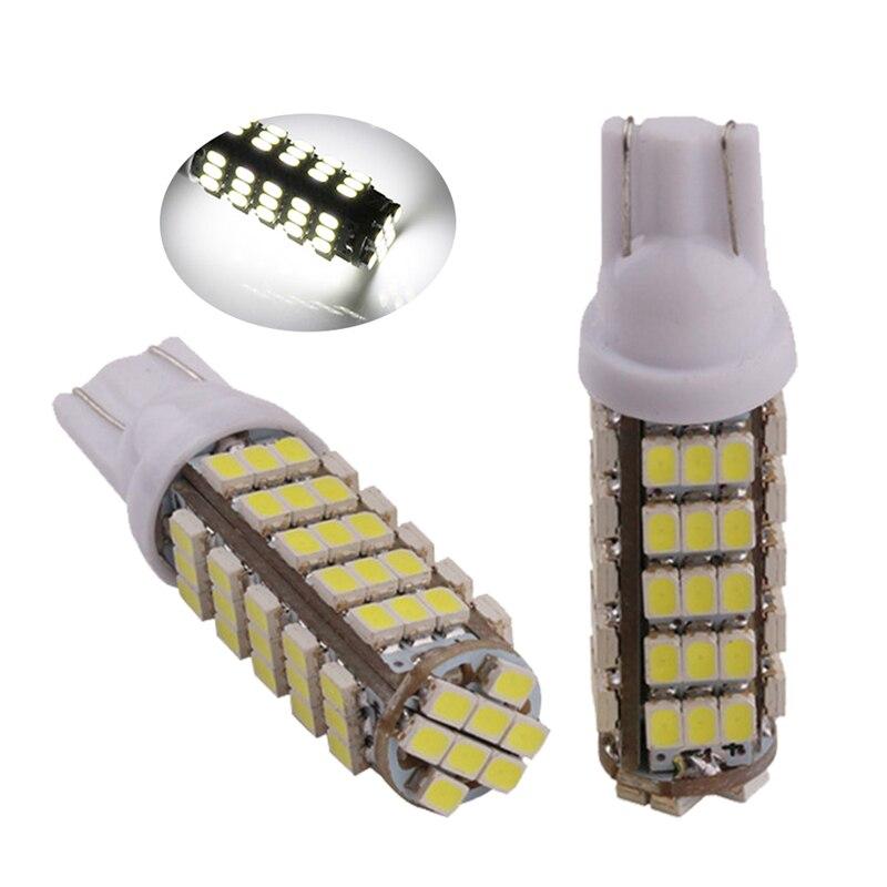 100X T10 Led 194 168 1206 68 SMD Car Light Bulbs White 544Lm Interior Lighting Reading Clearance Lamp 12V 24V Automobile
