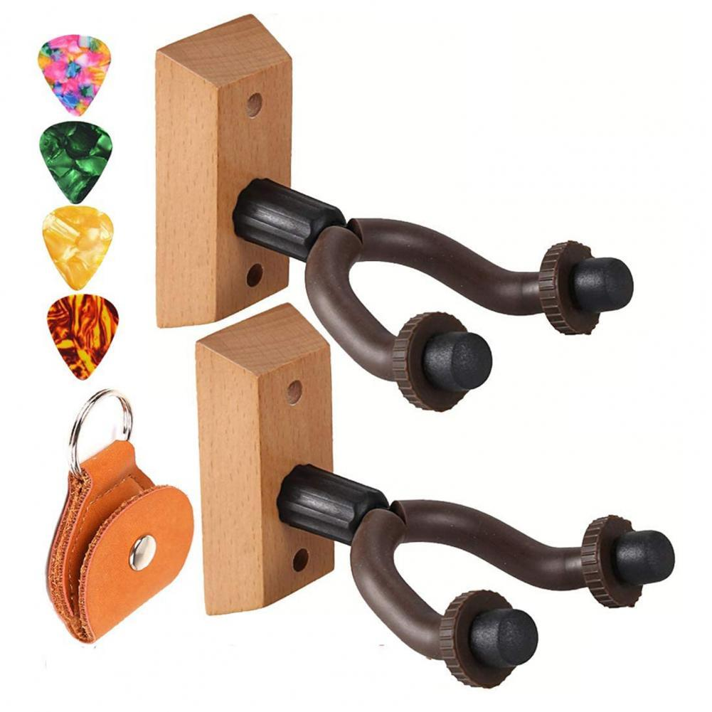 Wood Creative Guitar Picks Hanger Set Musical Instrument Wall Hangers for Mandolins гитара electric guitar