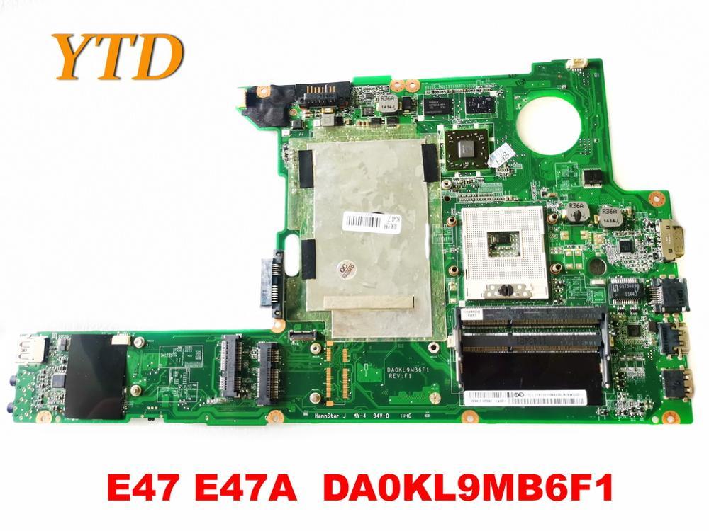 اللوحة الأم الأصلية لجهاز Lenovo E47 E47 E47A DA0KL9MB6F1 ، تم اختبارها ، شحن مجاني