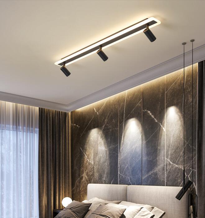 faixa de luz do ponto luz led claraboia domestica sem luz principal iluminacao sala