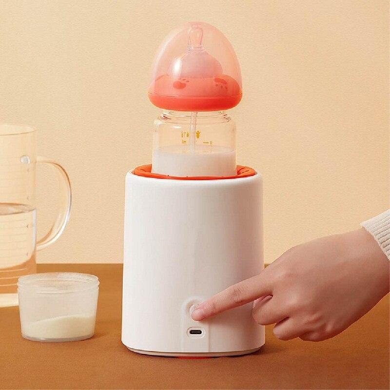 Моторизованный шейкер для молока, детский автоматический шейкер для молока, 3 скорости, Электрический шейкер для молока, шейкер для молока д... недорого