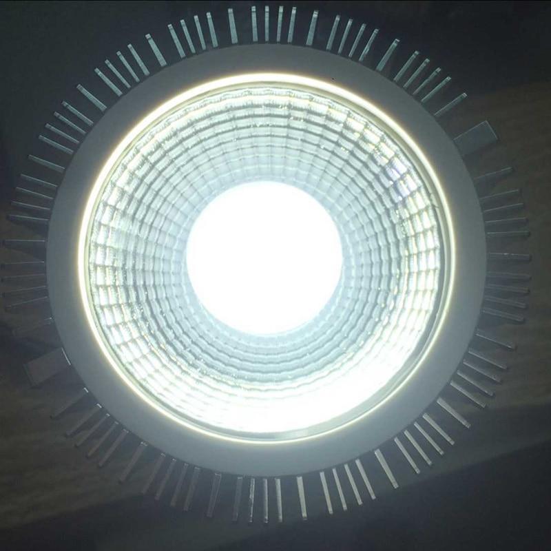4Pcs/Lot E27 AC85V-265V Lumen High Power 20W Spotlight Cob Par30 Led Lamp enlarge