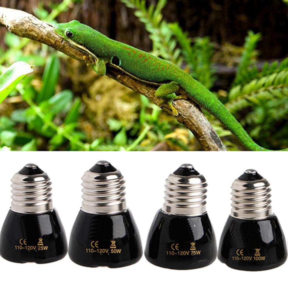 IR Wärme Emitter Aalen Keramik Birne 25 W/50 W/100 W Reptil Infrarot Heizung Lampe Pet reptilien und amphibien Zucht Licht