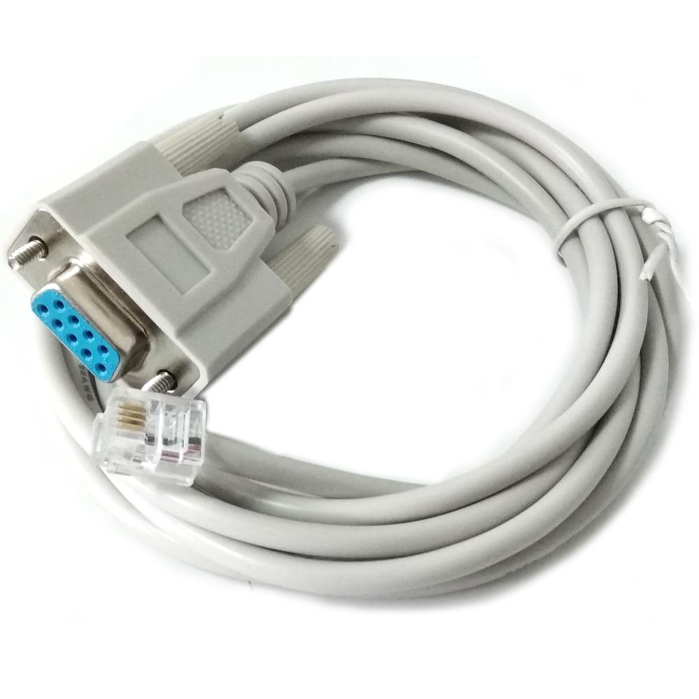 Controlador de mano DB9 rs232 a rj10 para celestron nexstar hc, cable...