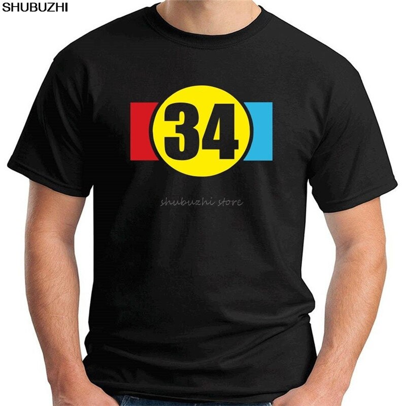 Camiseta MAGLIA para MOTO, KEVIN SCHWANTZ, número 34, motociclista, TB0316 sbz4432