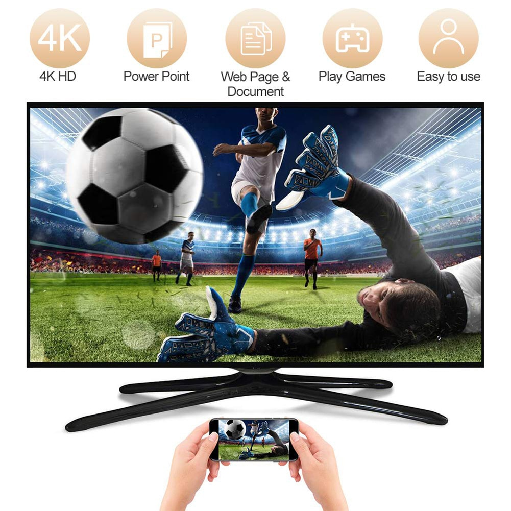 Adaptador de pantalla WiFi Dongle 4K HDMI inalámbrico, receptor de pantalla inalámbrica 5G WiFi para TV, Monitor de proyector, dispositivos HDMI, nuevo