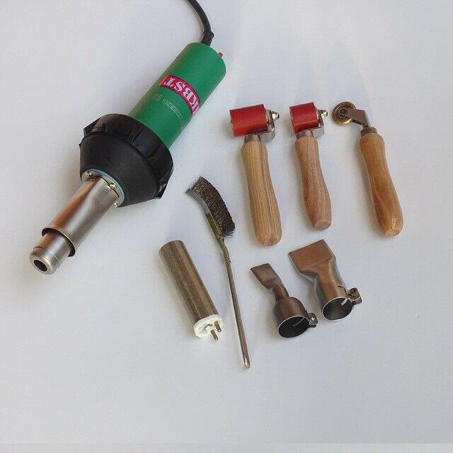 Фен для волос, пистолет с горячим воздухом 1600 Вт/220 В/110 В, сварочный аппарат с горячим воздухом, сварочный аппарат с горячим воздухом, произво...
