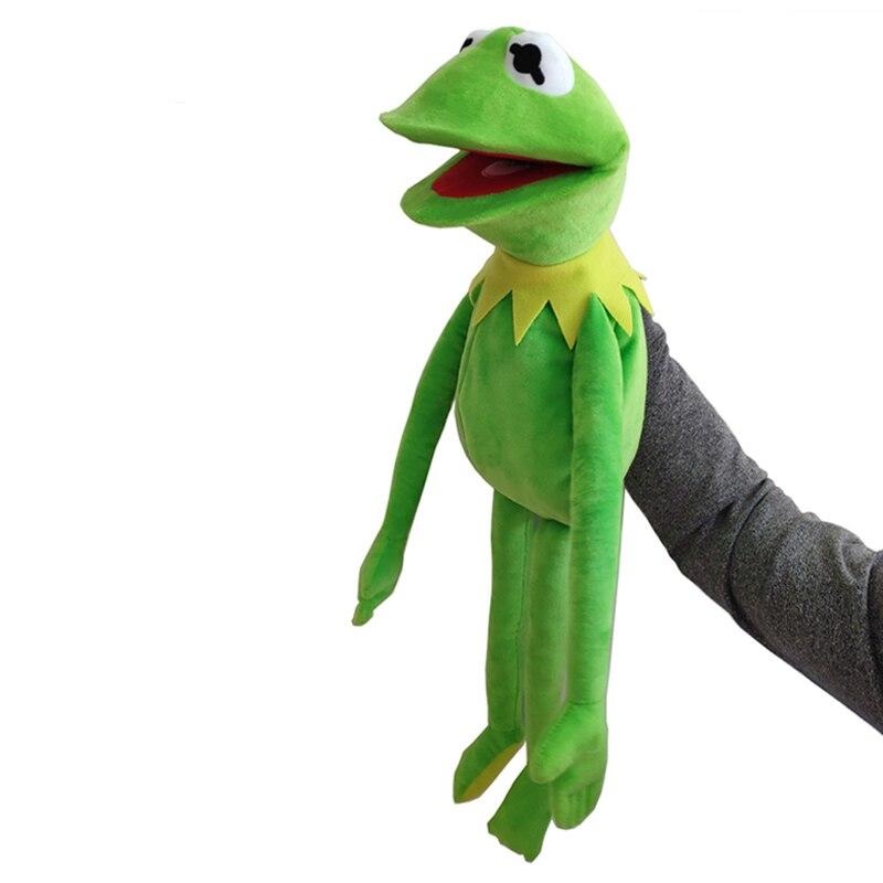60cm Sesam Straße Puppets Die Muppet Show Kermit frosch PlushToy Puppe Stofftiere Geburtstag Geschenke für Kinder