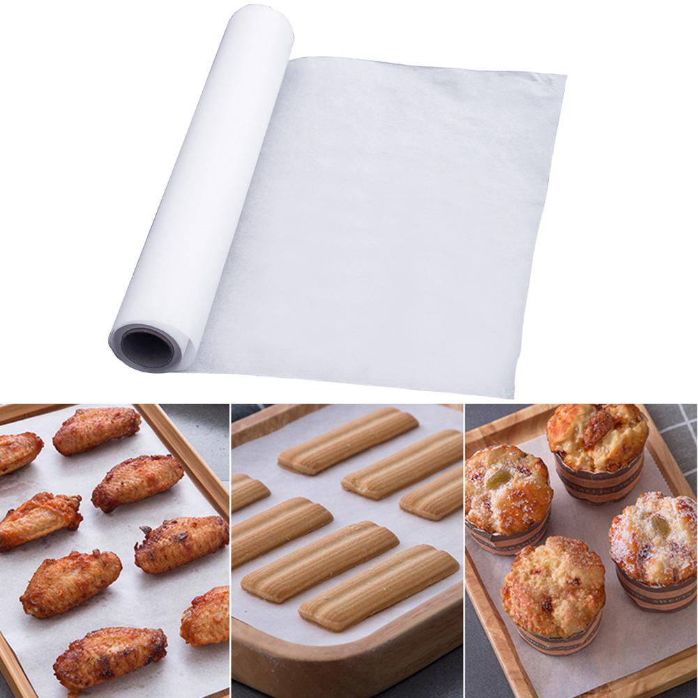 5/10/20/35m Kitchen Greaseproof Non-stick Oven Liner BBQ Baking Cooking Paper Non Stick Cookie Sheet Parchment Paper Baking Tool