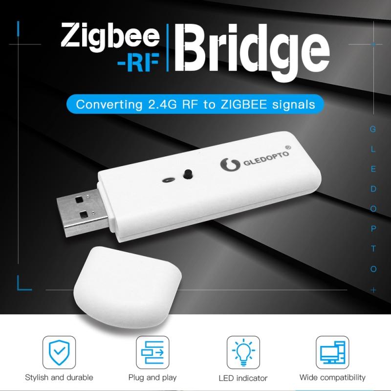 Gledopto العمل مع زيجبي بوابة التحكم الصوتي الذكية زيجبي-رف جسر تحويل إشارات رف إلى إشارات زيجبي الملحقات الذكية
