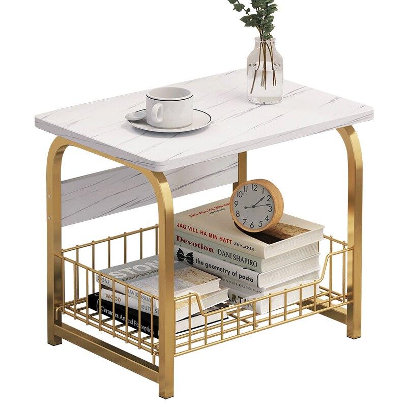 WoodenTea-mesa de centro de madera para oficina, repisa para revistas, escritorio pequeño,...