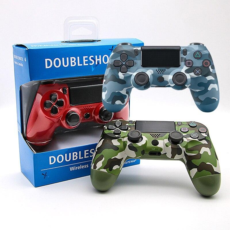Dualshock 4 gamepad para ps4 controlador joystick controlador sem fio bluetooth para ps4 pro controlador play station 4 controlador