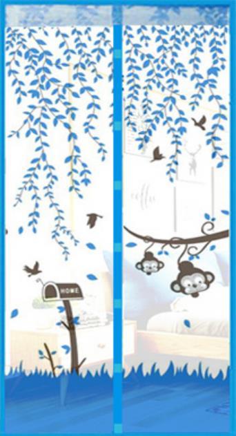 Mosquiteras para ventana magnéticas, cortina de puerta, VENTILACIÓN DE VERANO, antimosquitos, silenciosa,...
