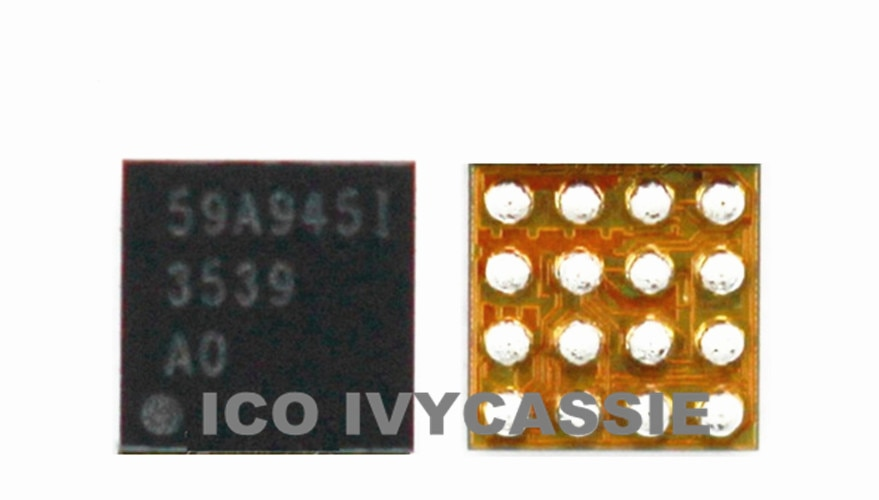 3539 para iPhone 6S 6SP 6S Plus U4020 retroiluminación IC para iPhone 7 7 P 7 Plus U4050 U3701 luz chip de Control LM3539A0YFFR 3539A0 A1