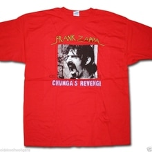 Frank Zappa T Shirt - Chungas zemsta Import ze stanów zjednoczonych Beefheart