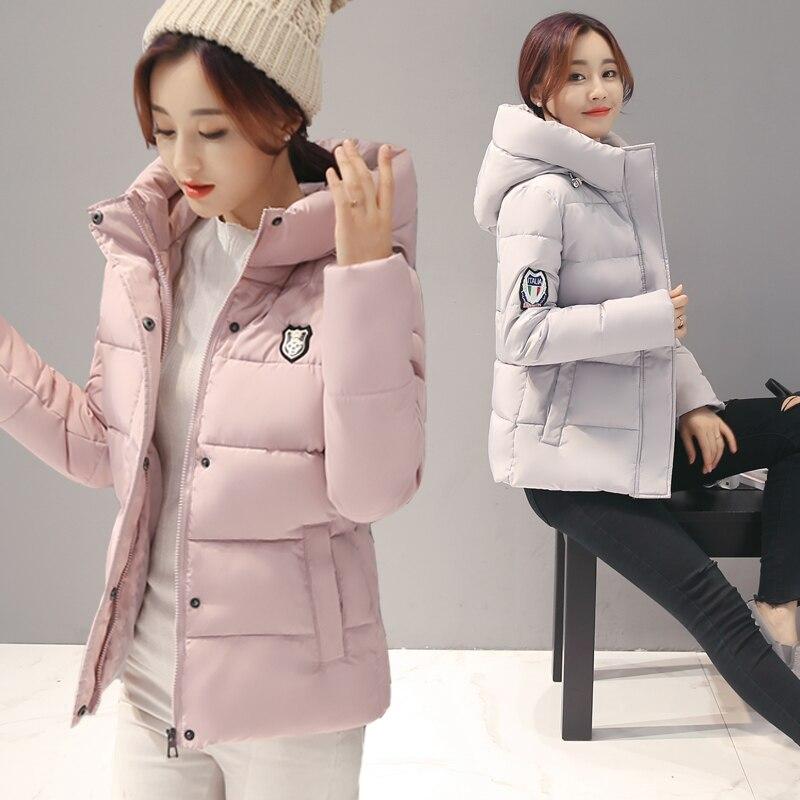 Дешевые оптовые 2017 новые осенние горячие продажи теплые женские парки зимние женские куртки женские милые бисические пальто doudoune femme