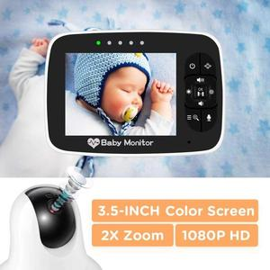 NEW M935 3.5 inch Baby Monitor Infrared Night Vision Wireless Video Color Monitor With Lullaby Remote Pan-Tilt-Zoom Talk Back