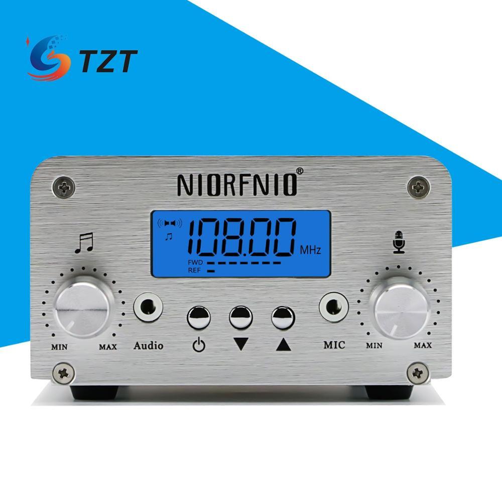 TZT NIO-T15B 15 واط FM الارسال عدة بلوتوث الكمبيوتر التحكم يو القرص HiFi ستيريو (CA-200N إصدار هوائي)