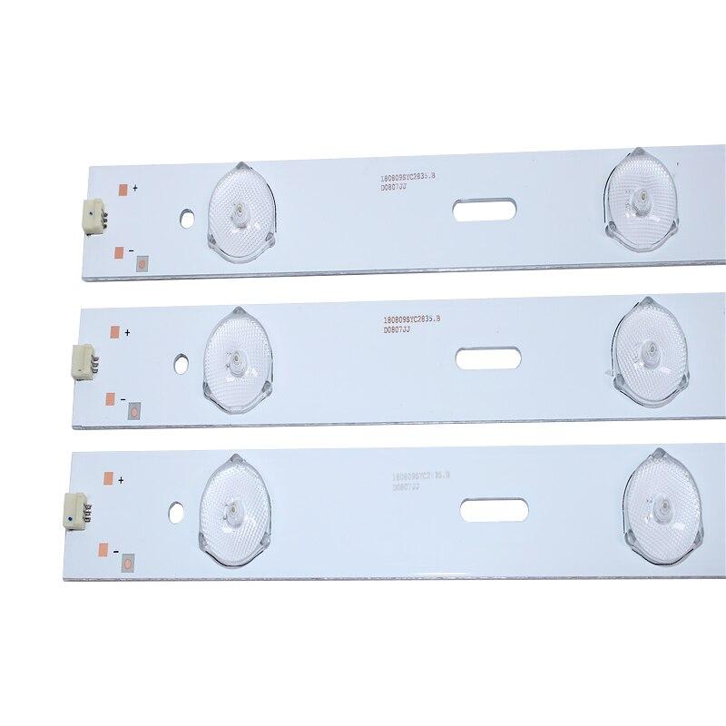 Nuevo kit 10 Uds 6LED 525mm sustitución para Sa msu ng 2013ARC48-3228N1-6-REV1.1 LSC480HN05-A48-LB-6436 B48-LW-5433 LE48A5000