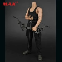 new 16 male black vest combat pants 16 scale bow arrow setknife toys zytoys zy16 12 clothes fit 12 female body figure