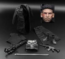Fajne Punisher TW003 frank castle 1/6 hot zabawki figurki akcji