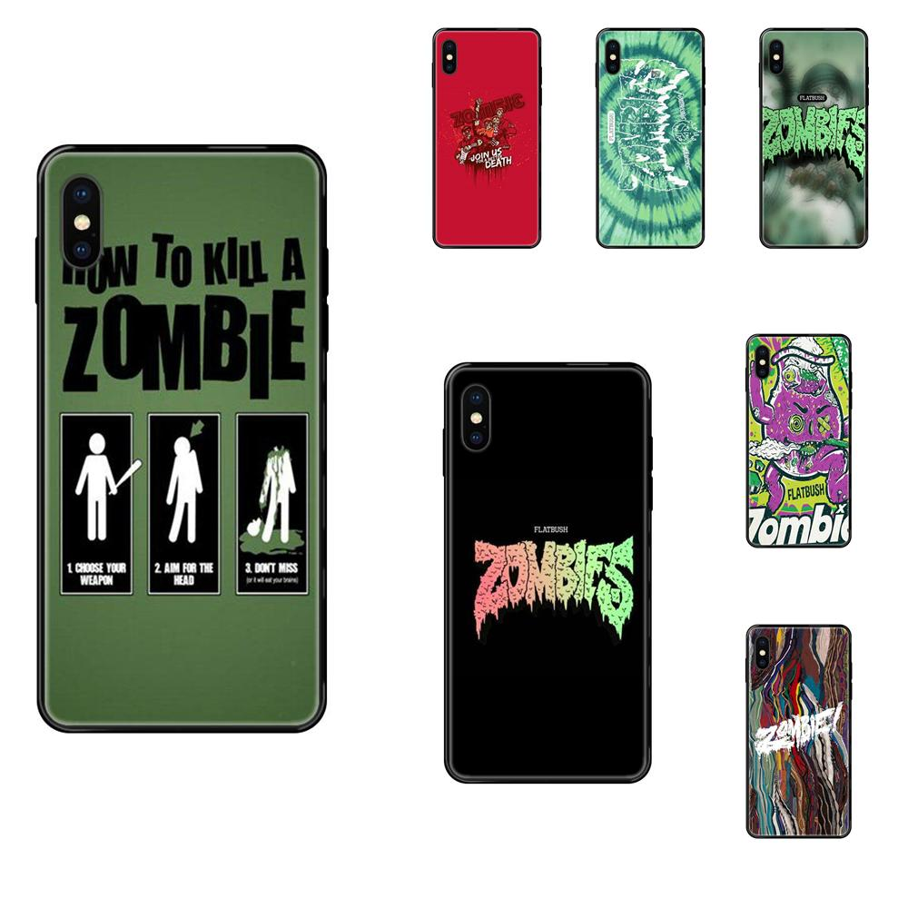 TPU Phone Cases For Xiaomi Mi Note A1 A2 A3 5 5s 6 8 9 10 SE Lite Pro Ultra Flatbush Zombies Design
