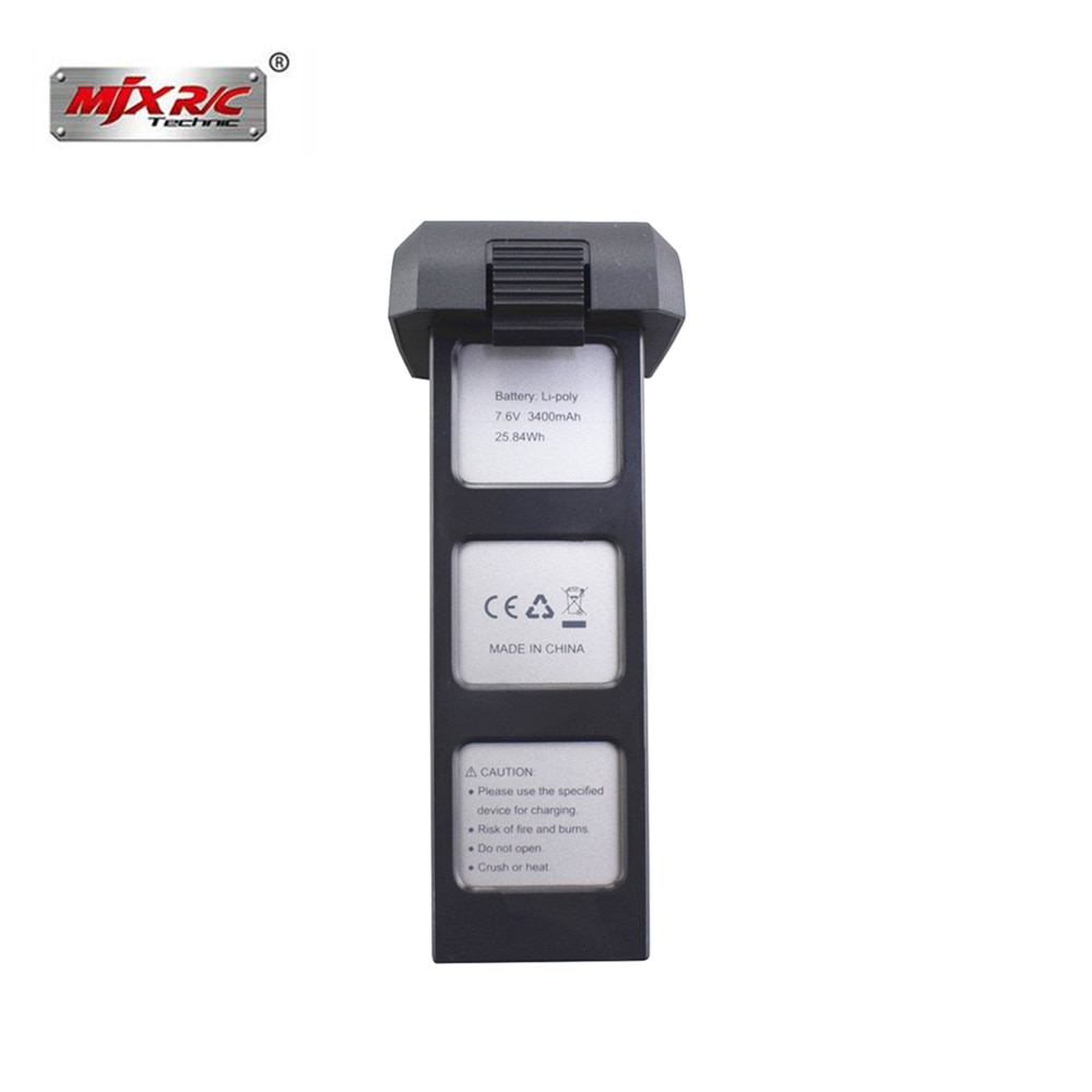 Оригинальный 7,6 v 3400mah Lipo аккумулятор для Mjx Bugs 4W B4W 7,6 v батарея для Potensic D88 EX3 HS550 JJRC X11 Rc Запчасти для Дронов