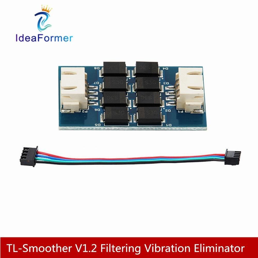 2 pièces tl-plus lisse V1.2 filtrage éliminateur de vibrations Addon Module pilote de moteur filtrage éliminateur vibrant avec câble de connexion