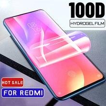 Гидрогелевая пленка с полным покрытием 100d для Xiaomi Mi 8 9 9T 9 SE Lite CC9 Pro, Защита экрана для Xiaomi Mi A2 A3 Lite Mix 3, не стекло