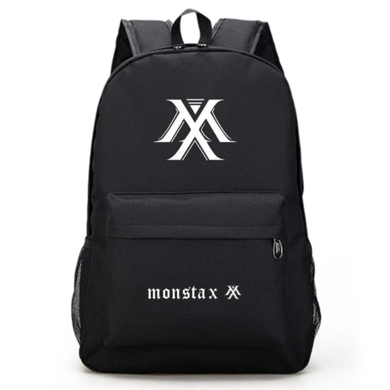 حقيبة ظهر للمدرسة مصنوعة من قماش الكتان