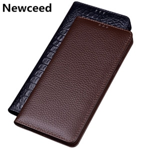 Genuine cowhide leather phone case for LG G9 ThinQ 5G flip card slot holder phone cover for LG G9 leather stand coque funda