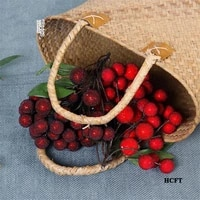 home hotel cafe store shop decoration faux red bayberry myrica rubra waxberry bunches artificial simulation fake fruit props