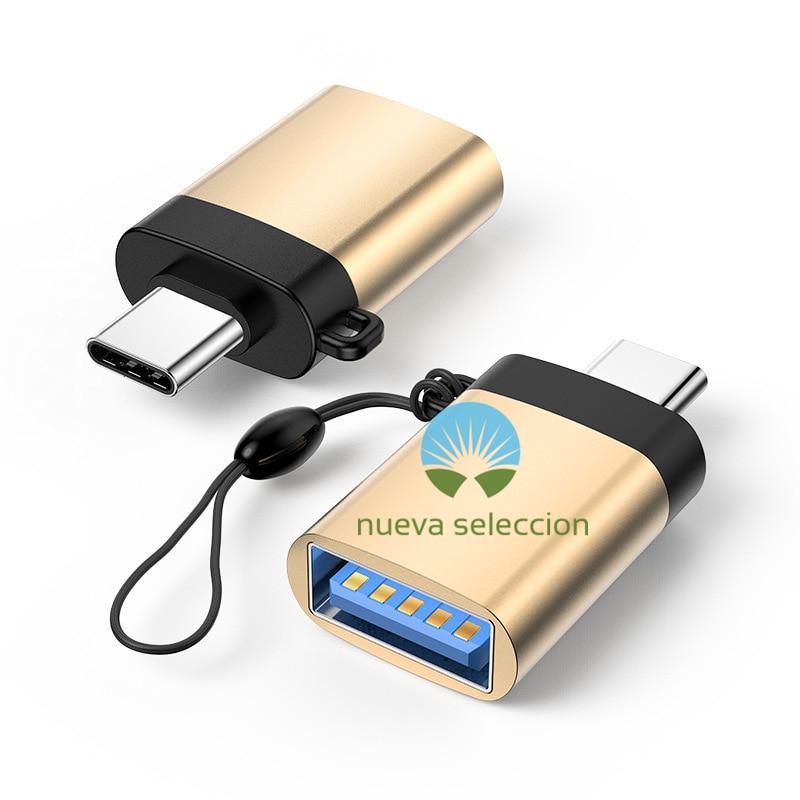 Adaptador USB tipo C a USB OTG, conector para Pendrive Drive USBC para Xiaomi, Huawei, Samsung Pixel, USB 3, otg