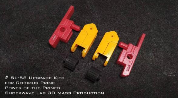 Shockwavelab SL-58 Upgrade Kit Voor Rodimus Prime