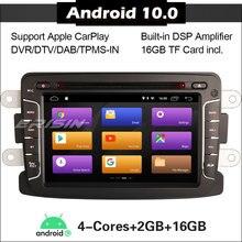 3029 Car stereo Android 10.0 for Renault Dacia Duster Logan Sandero DSP Carplay WIFI GPS DAB+ SWC DVD Autoradio Car Radio