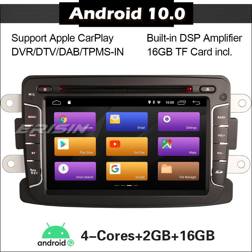 3029 coche estéreo Android 10,0 para Renault Dacia Duster Logan Sandero DSP Carplay WIFI DAB GPS + SWC DVD Autoradio coche Radio