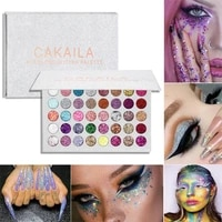 cakaila eyeshadow palette 40 color shadows pallet glitter highlighter shimmer make up pigment matte eye shadow pallete