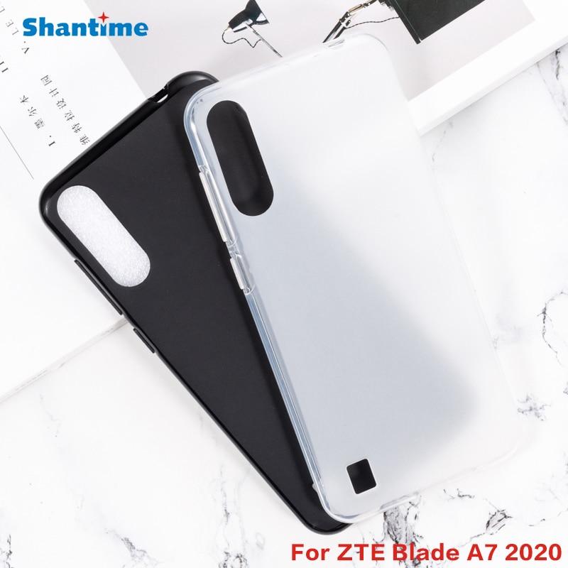 Para ZTE Blade A7 2020 Gel de silicona teléfono protector trasero Shell para ZTE Blade A7 2020 suave TPU caso