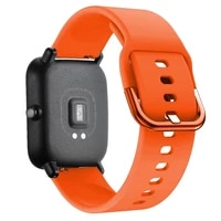 soft silicon wrist strap for xiaomi huami amazfit bip stratos 22s pace gtr 4247mm watch band for samsung gear s3 s2 bracelet