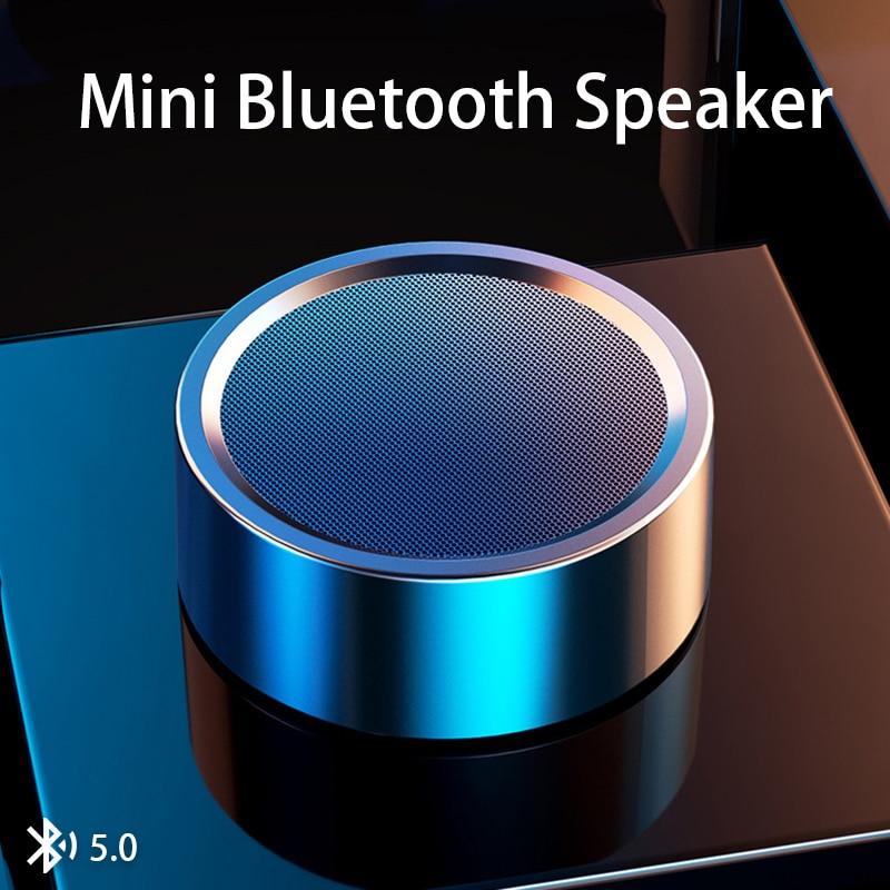 Minialtavoz con Bluetooth portátil, estéreo, inalámbrico, Boombox, Subwoofer, para música