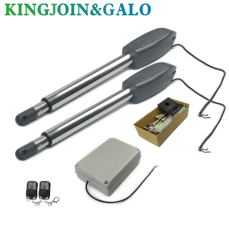 Electric gates / Electric Swing Gate Opener 300 KG -400KGS Swing Gate Motor AC220V electric gates electric swing gate opener 400 kg swing gate motor with 2 remote control wit 1 pair of photocells 1 alarm light