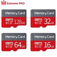 Карта памяти Microsd, класс 10, 256 ГБ, 128 ГБ, 64 ГБ, SDXC, 32 ГБ, 16 ГБ, SDHC, 8 ГБ, 4 Гб