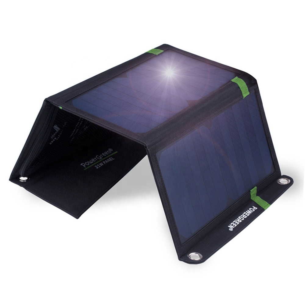 Fábrica Personalizado Barato Popular Promocional Usb Dobrável Painel Solar