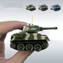 Cute Mini Tiger RC Tank Model Imitate Scale Remote Radio Control Tank Radio Controlled Electronic Toys Tank for Children Kids