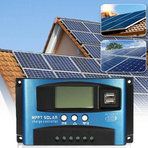 New Fashion Solar Panel Regulator Charge Controller 12V/24V Auto Focus Tracking 40-100A MPPT