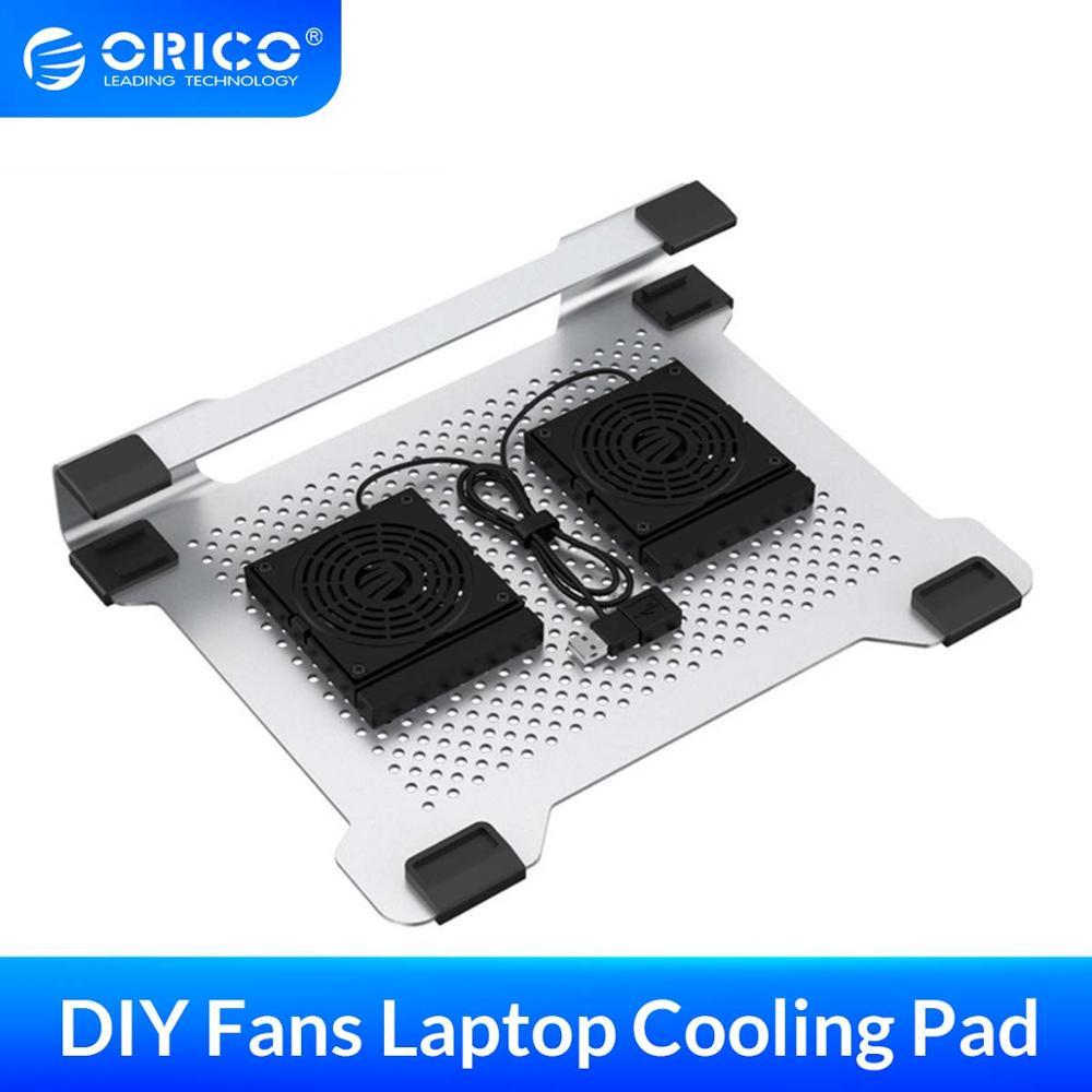 ORICO, almohadilla de refrigeración para ordenador portátil de 15 pulgadas, soporte de placa de soporte para radiador para ordenador portátil de Apple, almohadilla de refrigeración para ordenador portátil
